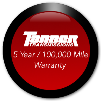 Industry Leading 5 year / 100,000 Mile Automatic Transmission Warranty